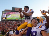 LSU faces its third top 10 match-up of the season vs. Auburn with No. 1 Alabama looming
