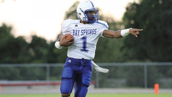 Bay Springs QB/WR Jonnas Spivey eager to be '100 percent'