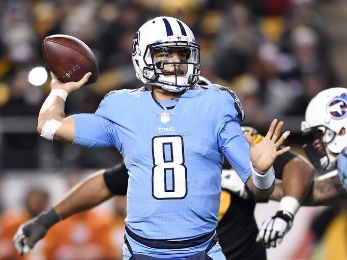 #8, Marcus Mariota, Quarterback: Titans quarterback