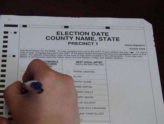 ballot stock