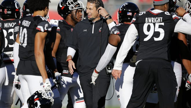 Cincinnati Bearcats football coach Luke Fickell and his team will open the 2018 season against UCLA on Sept. 1 at the Rose Bowl, on ESPN.