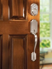 No more looking for keys. You can open your front door