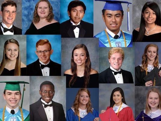 Abilene high school top graduates