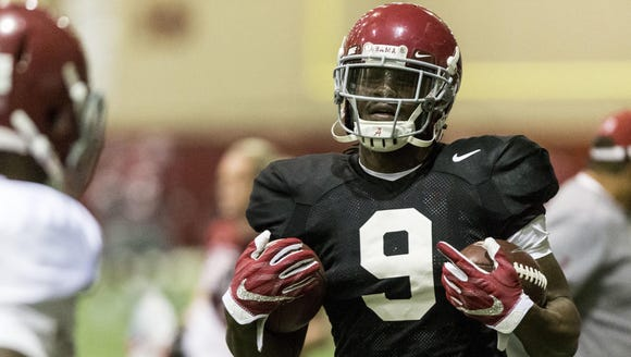 Alabama running back Bo Scarbrough looks to have a