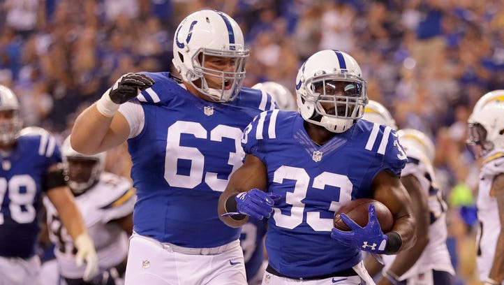 Colts Q&A: Turbin learned lessons from tragic losses