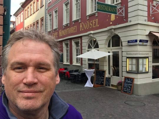 Jim Theres, a Racine native, visits Heidelberg, Germany,