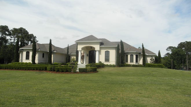 This estate at 5004 Rip Van Winkel Road in New Iberia, boasts 4,217 sqft on 8.96 acres. It has 3 Bedrooms, 3 1/2 Bathrooms and is listed at $1,500,000.