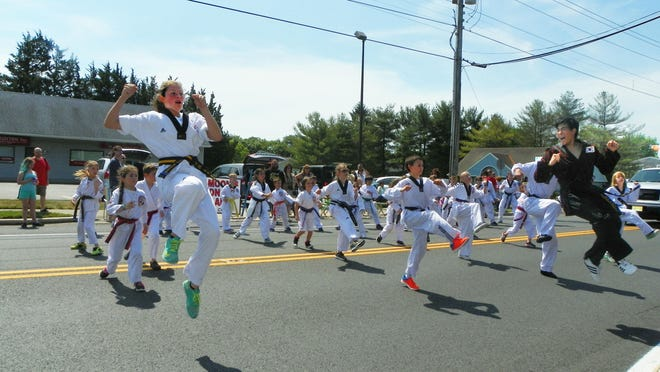 A martial arts demonstration drew applause during last year's annual Stafford Founders Day Parade.