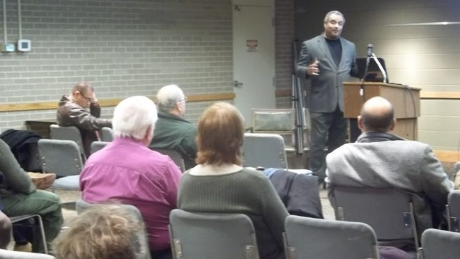 Dr. Michael Cherry talks about the 61st U.S. Colored Infantry, composed of former slaves who left plantations and joined the Union Army.