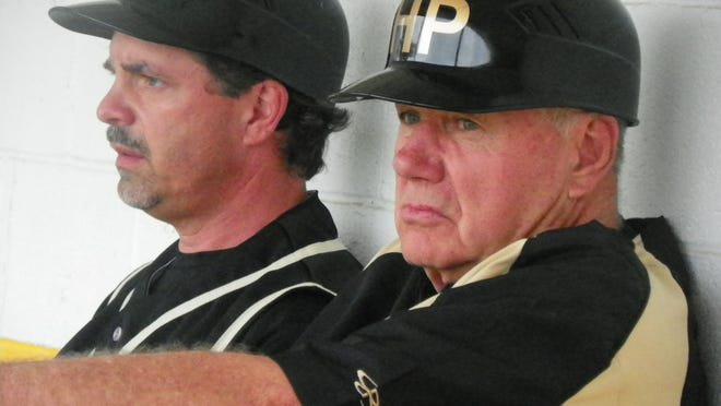 Wendell Wear (right) spent 43 years as a baseball coach at Hanover Park, 26 years as head coach and the last 17 as the assistant to Dave Minsavage (left). Wear retired last week, ending a legendary career at Hanover Park.