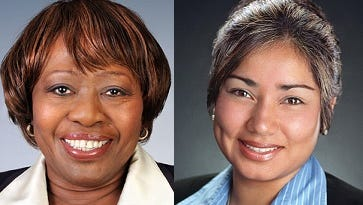 City Council President Loretta Scott and Council member Jackie Ortiz are at odds heading into 2018.