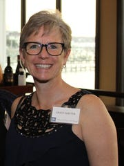 Incoming board member Dr. Cindy Barter