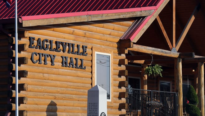 Once a restaurant, Eagleville City Hall now holds court there, along with City Council and Planning Committee meetings, as well as day-to-day business.