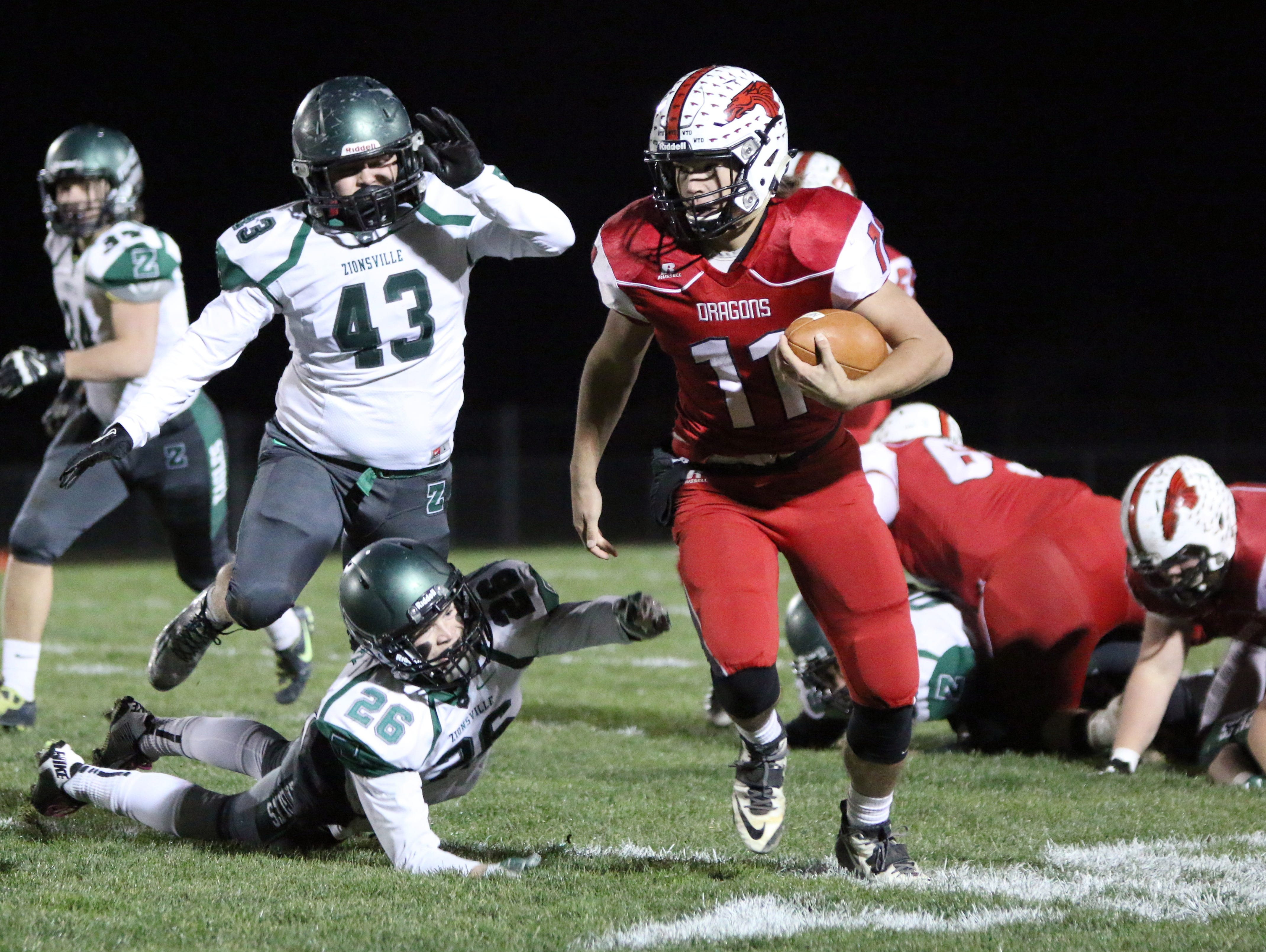 Record-setting QB Alex Neligh is a leading candidate for IndyStar Mr. Football.