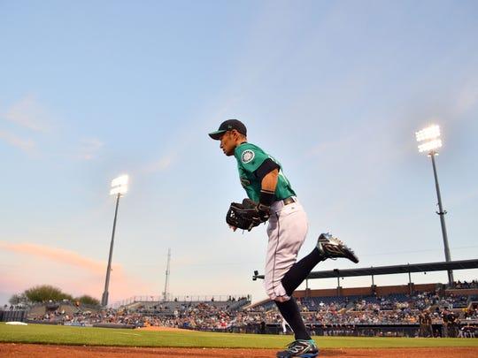 Ichiro Suzuki, if healthy, will be the Mariners' starting