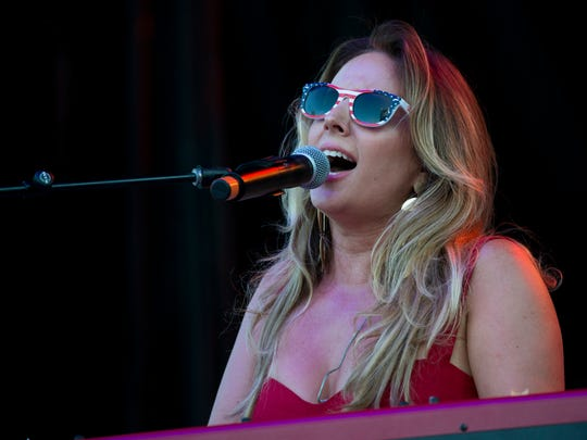 Lucie Silvas will perform in Gallatin's Fire on the Water Festival Aug. 18, 2018.