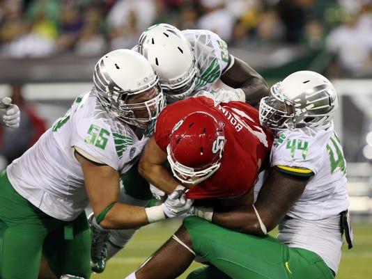 NCAA Football: South Dakota at Oregon