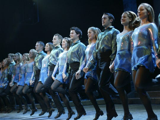 """Riverdance — The 20th Anniversary World Tour"" comes to the Auditorium Theatre for five performances from Friday through Sunday, March 10 to 12."