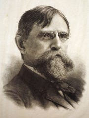 Engraving of Lew Wallace, 1886