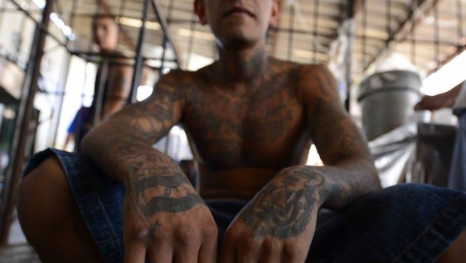 La Mara Salvatrucha es una pandilla que nació en Los Ángeles, pero ha echado raíz en  El Salvador.