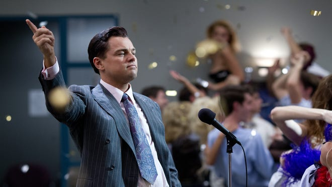 Leonardo DiCaprio is Jordan Belfort in 'The Wolf of Wall Street.'