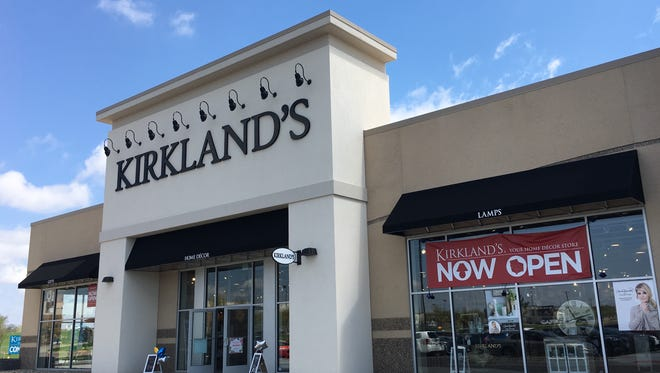 Home decor store Kirkland's opened in the Lake Lorraine mixed-use development on Wednesday.