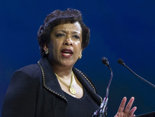 Then-Attorney General Loretta Lynch said her meeting
