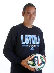 Mark Matlock, Loyola girls soccer coach, earned the Regional Coach of the Year award from the NSCAA.