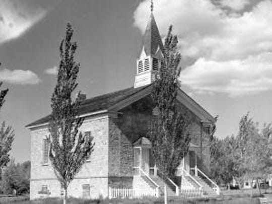 The Old Rock Church is shown in this undated photo.