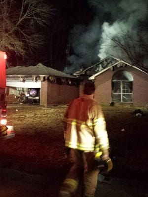 "Investigators are searching through a Pineville house after a Sunday night fire did ""a lot of damage,"" according to Pineville Fire Department Chief Eddie LaBorde."