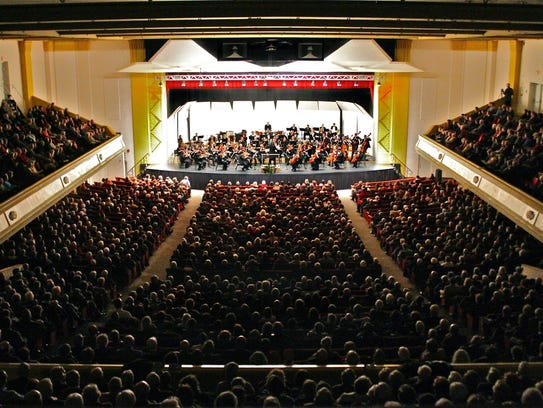 Asheville Symphony Orchestra performs its Masterworks