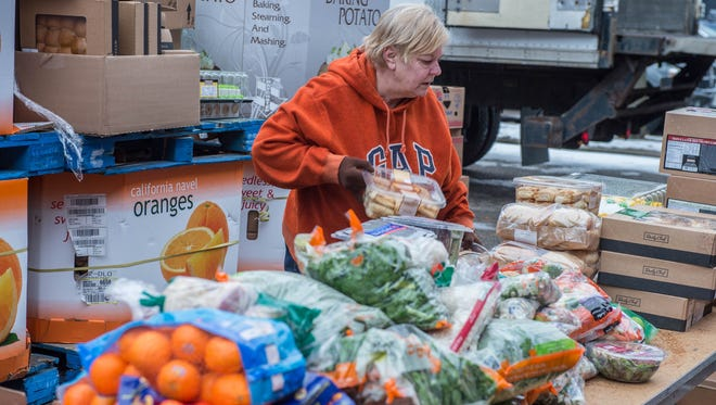 The Food Bank of South Central Michigan gathers and distributes food to pantries and community partners in eight counties.