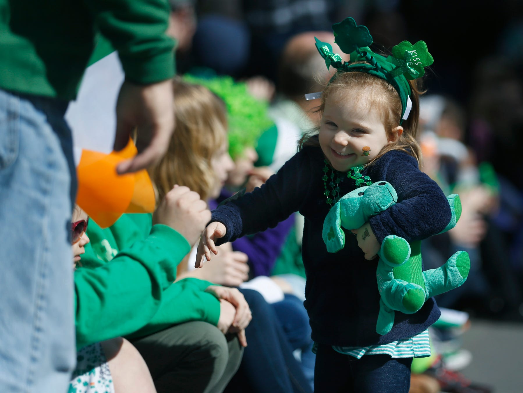Nothing says St. Patrick's Day like a parade.