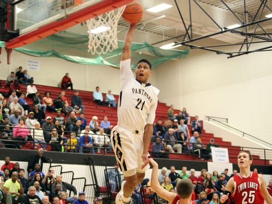 Griffith plays Twin Lakes, Boys basketball, Class 3A Kankakee Valley Regional, semifinal