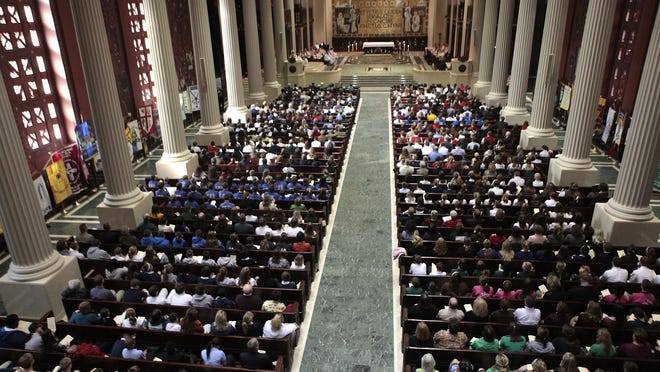 One of three Masses for victims of sexual abuse will be celebrated at St. Peter in Chains Cathedral Sept. 14.