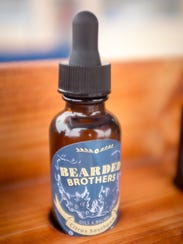 """The """"Citrus Southpaw"""" beard oil from the Bearded Brothers,"""