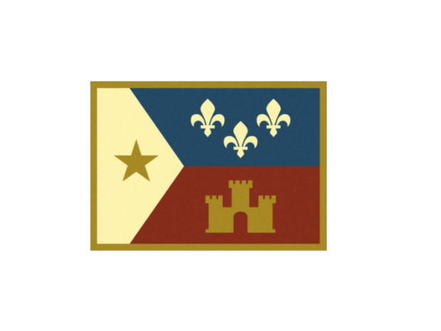 Represent your Hometown with an Acadian Flag sticker! Enter 7/1-7/31.