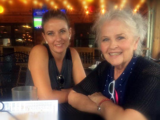 Longtime community leader and educator, and Republican Women of Otero County Chair Patricia Ruth Trautman passed away Oct. 30 from pancreatic cancer. In this file photo, Trautman and her niece Morgan Harding celebrate Pat's birthday last July.