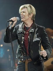 """Singer/songwriter David Bowie died Jan. 10, 2016, two days after releasing his final CD, """"Blackstar."""""""