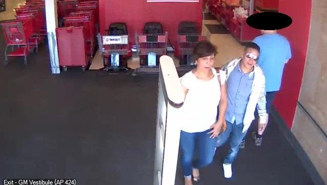 Two female pickpocket suspects located in a Target in Scottsdale.
