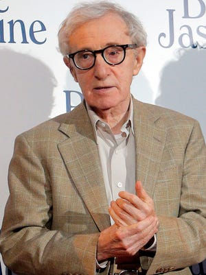 Director Woody Allen at the French premiere of 'Blue Jasmine' in August in Paris.