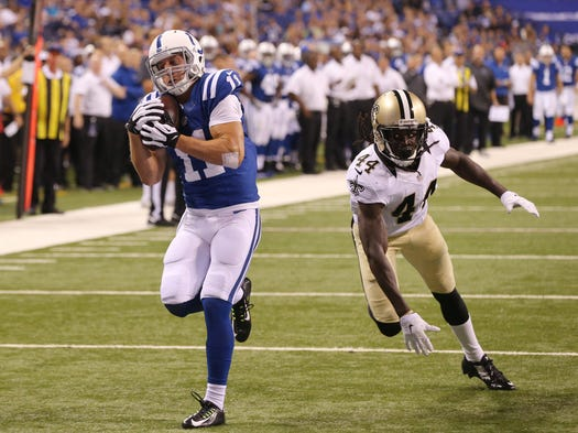 Colts turn in disappointing dress rehearsal vs new orleans for Josh lenz