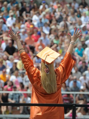 Most school districts have set their 2016 high school graduation dates.