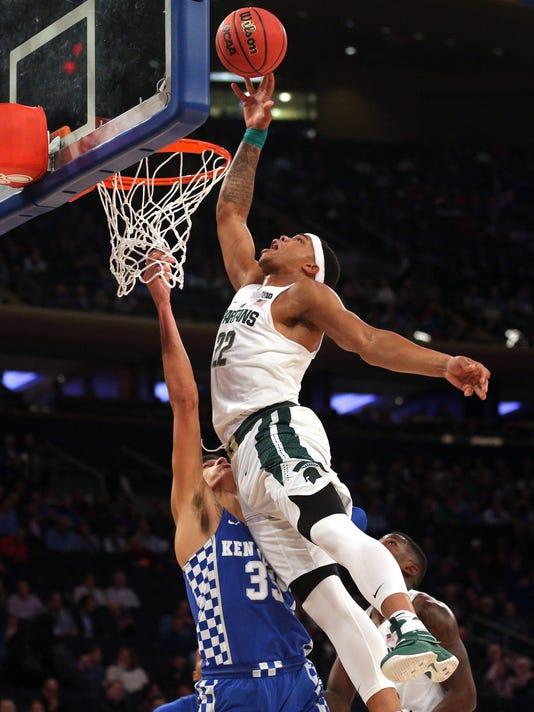 NCAA Basketball: Champions Classic-Kentucky vs Michigan State