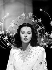 "Hedy Lamarr in 1941's ""Ziegfeld Girl."" She starred in the film alongside Lana Turner and Judy Garland."