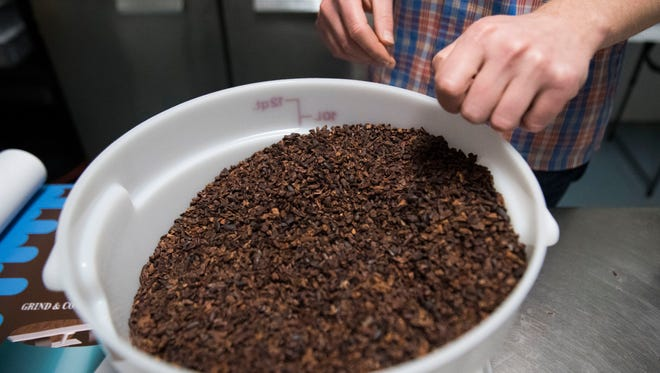 The flavanoids in cocoa nibs have some beneficial effect, and researchers hope to understand why.