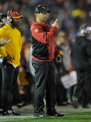 Steve Sarkisian is 7-4 in his first season at USC,