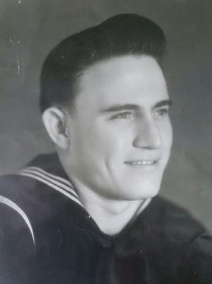 """Stitzner """"Stid""""Vipperman served in the U.S. Navy in the late 1940s."""