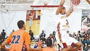 Bethune Cookman forward LaRon Smith, who was third in the nation last year in blocked shots, agreed to play the 2016-17 season as a graduate transfer at Auburn.