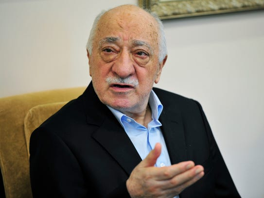 In this July 17, 2016 file photo, Islamic cleric Fethullah
